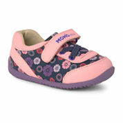 Girls Abstract Floral Sneaker Shoes