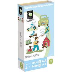 Cricut® Shape and Font Cartridge—Nate's ABCs