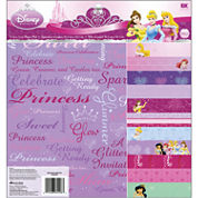 Disney Paper Pad Scrapbook Kit - Princesses