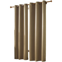 VCNY McKenzie Twill Blackout Grommet-Top Curtain Panel