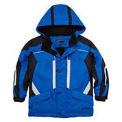 Boys Heavyweight Ski Jacket-Preschool Boys 4-7