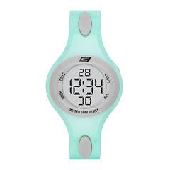 Skechers® Ladies Mint Digital Strap Watch