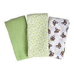 Summer Infant® 3-pk. SwaddleMe® Muslin Blanket
