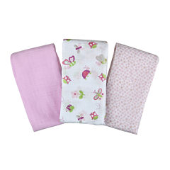 Summer Infant® 3-pk. SwaddleMe® Muslin Blanket - Girl Bugs