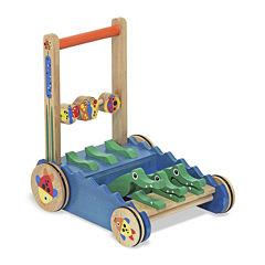 Melissa & Doug® Chomp & Clack Alligator Push Toy