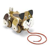 Melissa & Doug® Playful Puppy Pull Toy