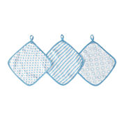 ideal baby by the makers of  aden + anais® 3-pk. Washcloths - Sunny Side