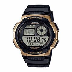 Casio Table Mens Black Strap Watch-Ae1000w1a3pb
