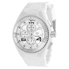 Techno Marine Womens White Strap Watch-Tm-115293