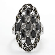 Sparkle Allure Cluster Ring