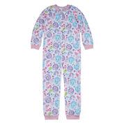 Kids Line Girls Long Sleeve One Piece Pajama-Big Kid