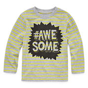 Okie Dokie Boys Long Sleeve T-Shirt-Toddler