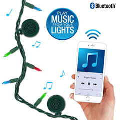 Bright Tunes BRT-200 Indoor/Outdoor Incandescent String Lights with Bluetooth Speakers