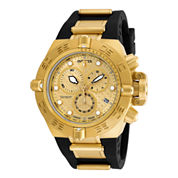 Invicta® Subaqua Noma IV Mens Gold-Tone Stainless Steel Chronograph Sport Watch 16144