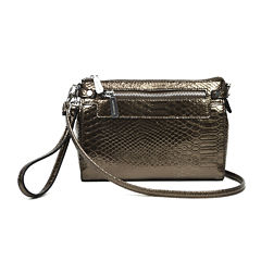 Liz Claiborne Elly Convertible Wristlet Crossbody Bag