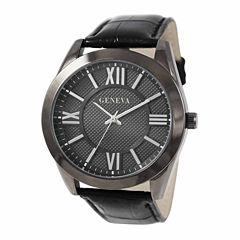 Geneva Mens Black Watch