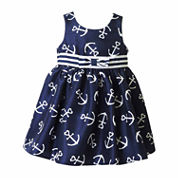 Lilt Sleeveless Empire Waist Dress - Baby