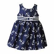 Lilt Sleeveless Empire Waist Dress - Baby