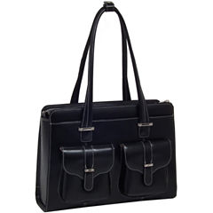 McKlein Alexis Leather Briefcase