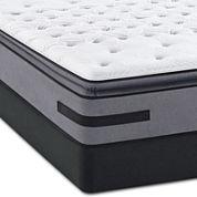 Sealy® Posturepedic® Solia Bay Firm Euro Pillow-Top - Mattress + Box Spring