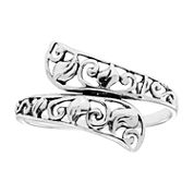 Fashion Carded Rings Bypass Ring