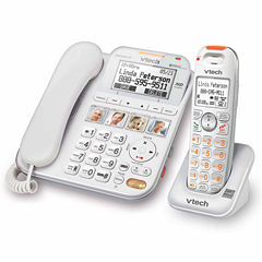 VTech SN6147 CareLine Corded/Cordless Answering System