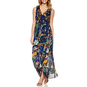 Signature by Sangria Sleeveless Maxi Dress