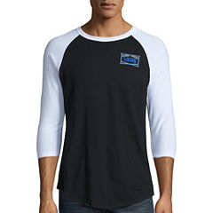 Vans 3/4 Sleeve Crew Neck T-Shirt