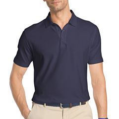 IZOD Short Sleeve Solid Interlock Polo Shirt