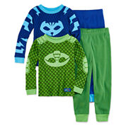 4-pc. PJ Masks Kids Pajama Set-Toddler