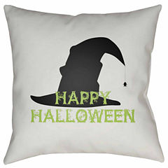 Decor 140 Happy Halloween Square Throw Pillow