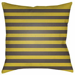 Decor 140 Harvest Stripes Square Throw Pillow