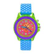Shopkins Boys Blue Strap Watch-Kin9001jc