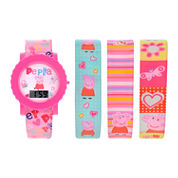 Girls Multicolor Strap Watch-Ppg3013jc