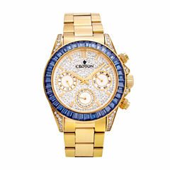 Croton Womens Gold Tone Bracelet Watch-Cn307565ylbl