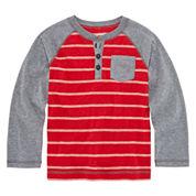 Arizona Long Sleeve Henley Shirt - Preschool