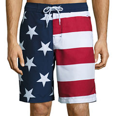 St. John's Bay® Print Swim Trunks