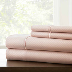 Pacific Coast Textiles Lombard Embossed MicrofiberWrinkle Resistant Sheet Set