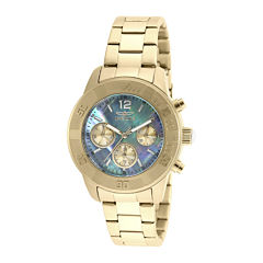 Invicta® Angel Womens Mother-of-Pearl Dress Watch 21612
