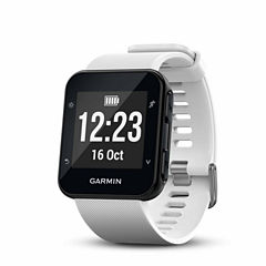 Garmin Forerunner 35 White GPS Smartwatch-0100168903key