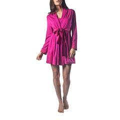 Maidenform Long Sleeve Wrap Robe