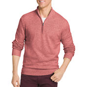 IZOD Long Sleeve Cotton Pullover Sweater