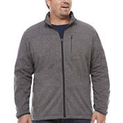 The Foundry Supply Co. Fleece Jacket Big and Tall