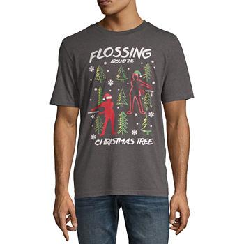 Mens Christmas Graphic T shirt