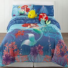 Disney Little Mermaid Comforter & Accessories