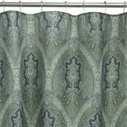 Bacova Landon Damask Shower Curtain