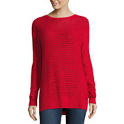 Stylus Long Sleeve Crew Neck Pullover Sweater