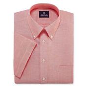 Stafford® Travel Short-Sleeve Wrinkle-Free Oxford Dress Shirt - Big & Tall