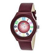 Crayo Unisex Red Strap Watch-Cracr3503