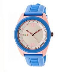 Crayo Unisex Purple Strap Watch-Cracr3605